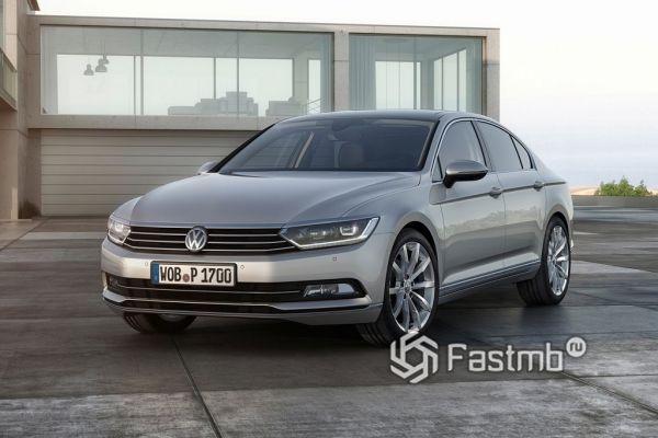 Практичный Volkswagen Passat