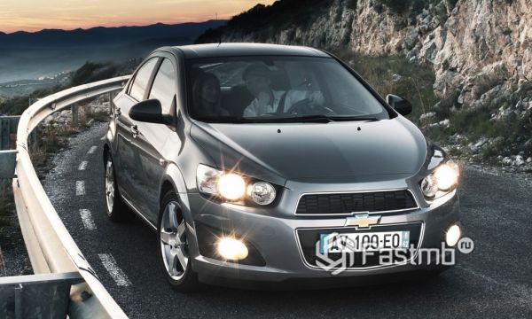 «Эмоциональный» Chevrolet Aveo