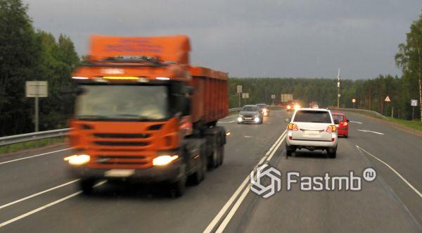 Ограничение скорости на российских дорогах