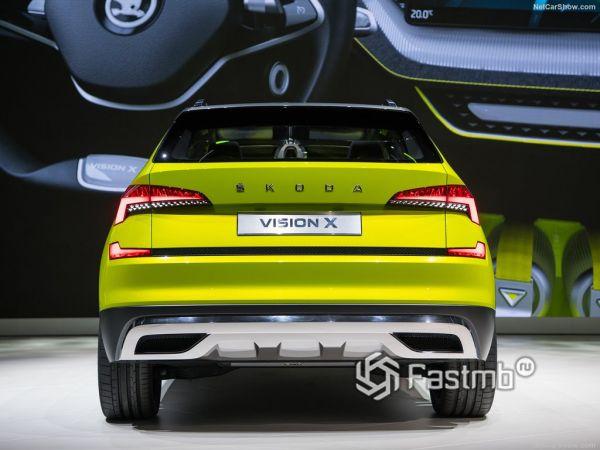 Skoda Vision X Concept 2019, вид сзади