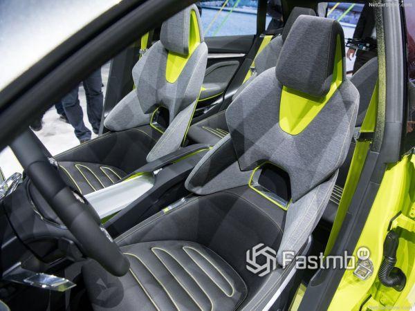 Skoda Vision X Concept 2019, передние сидения