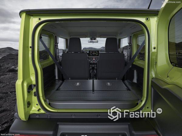 Сузуки Джимни 2019 года, багажник