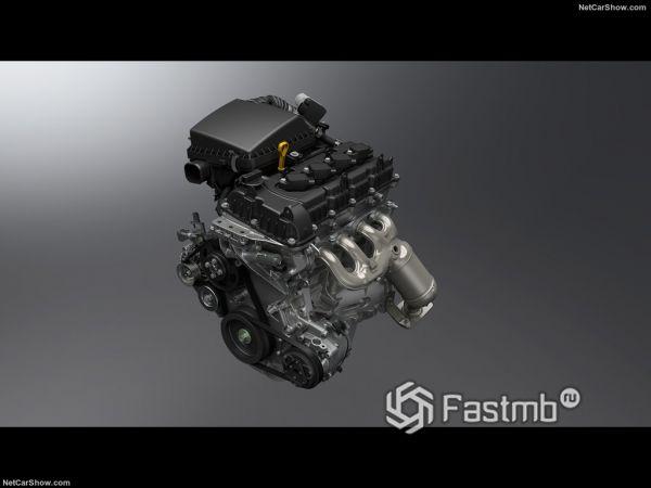 Suzuki Jimny 2019, двигатель