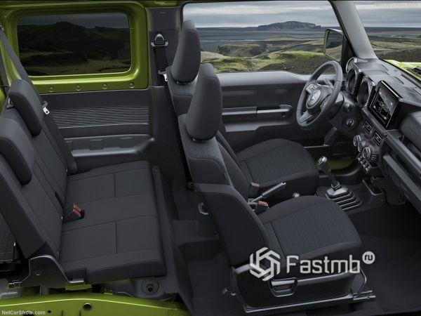 Suzuki Jimny 2019, интерьер
