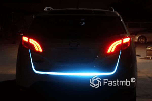 Принцип свечения бегающих LED поворотников RunLed