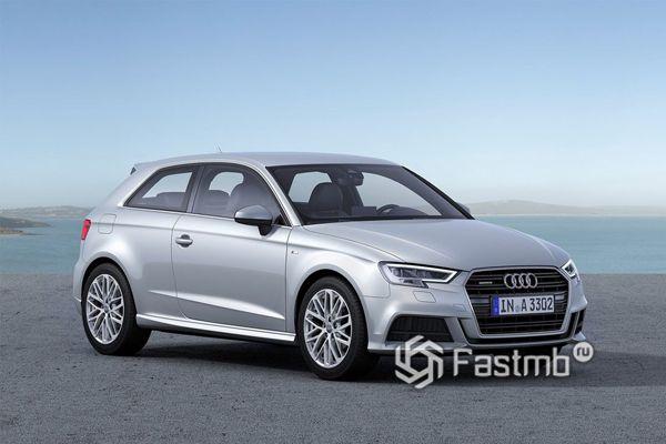 Компактный Audi A3 2018
