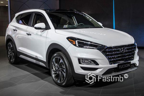 Кроссовер Hyundai Tucson 2018