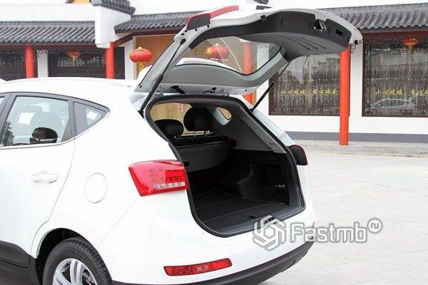 Крышка багажника JAC S5
