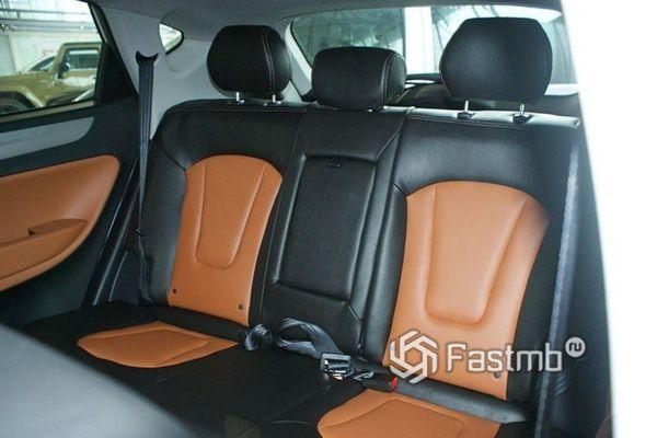 Второй ряд сидений JAC S5