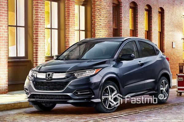 Новый кроссовер Honda HR-V 2018 в Украине