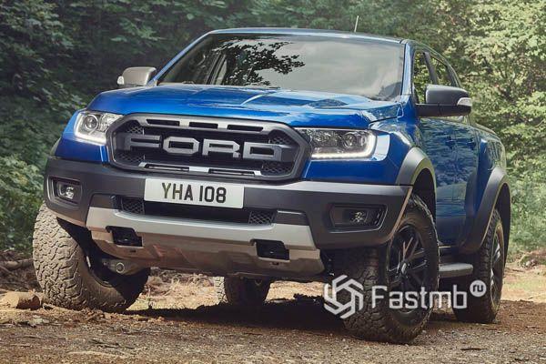 Новый Ford Ranger Raptor 2019-2020