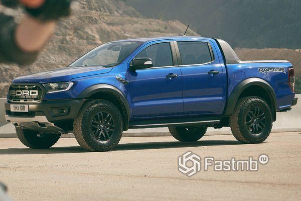 Ford Ranger Raptor 2019, вид сбоку