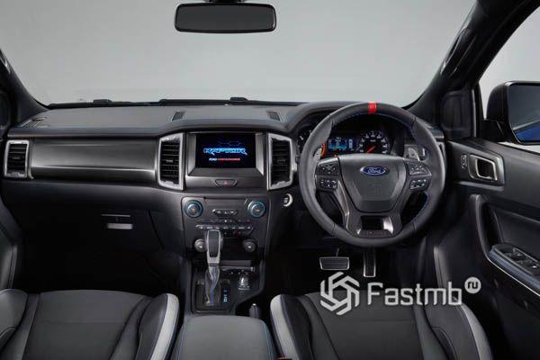 Передняя панель Ford Ranger Raptor 2019