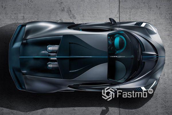 Крыша нового Bugatti Divo 2018