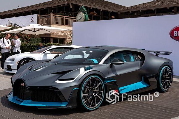 Новый Bugatti Divo 2019 на выставке