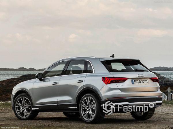 Системы безопасности нового  Audi Q3