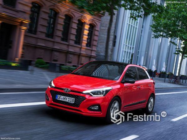 Hyundai i20 2019: плановое обновление модели