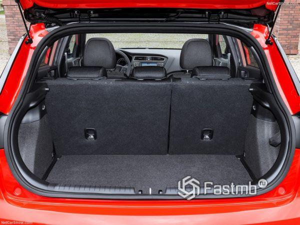Хендай Ай20 2019 года, багажник