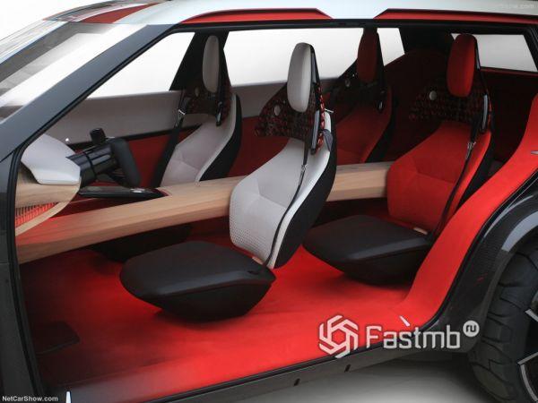 Nissan Xmotion Concept 2018, кресла