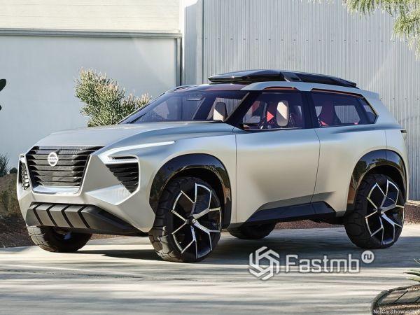 Nissan Xmotion Concept 2018: брутальный «гость» из будущего