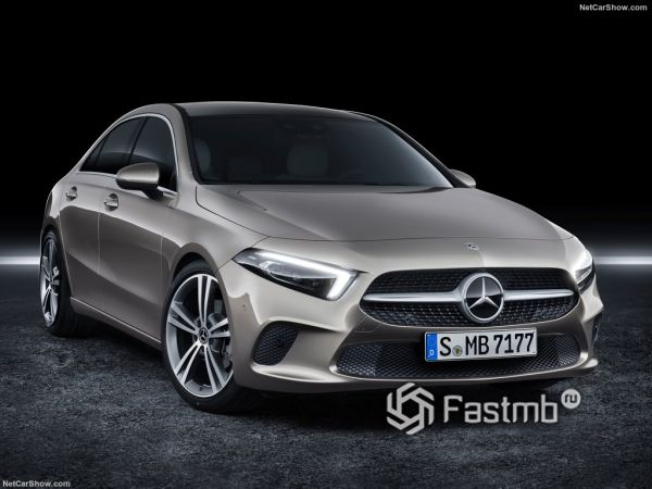 Системы безопасности нового Mercedes-Benz A-Class Sedan
