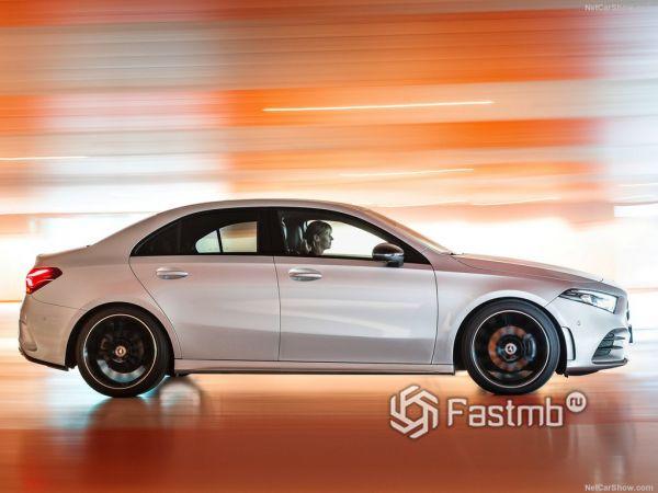 Технические характеристики Mercedes-Benz A-Class Sedan 2019