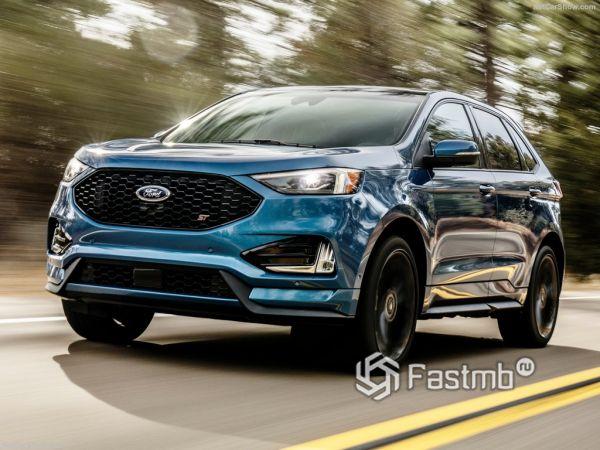 Ford Edge ST 2019: версия для любителей «погорячее»