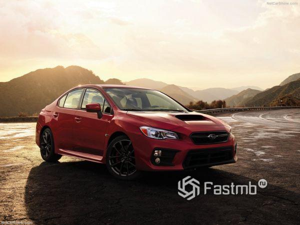 Subaru WRX 2018: фото, характеристики и цена