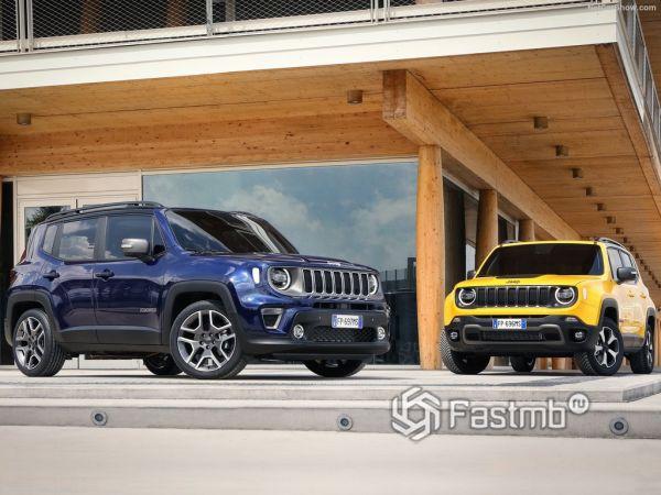 Jeep Renegade 2019: плановый рестайлинг кроссовера