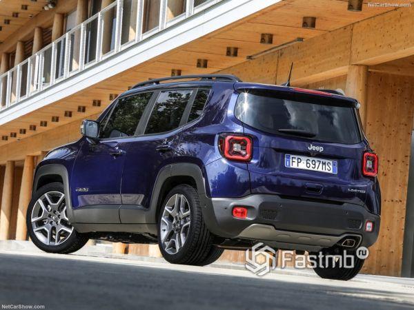 Безопасность нового Jeep Renegade