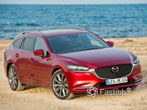 Mazda 6 Wagon 2018: эталонный стиль, вместительность и комфорт