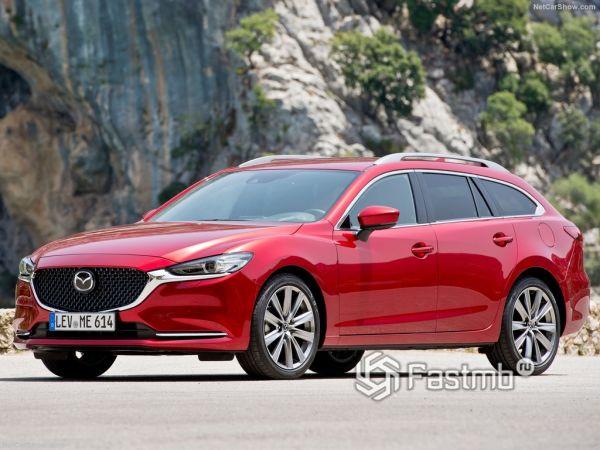 Системы безопасности новой Mazda 6 Wagon