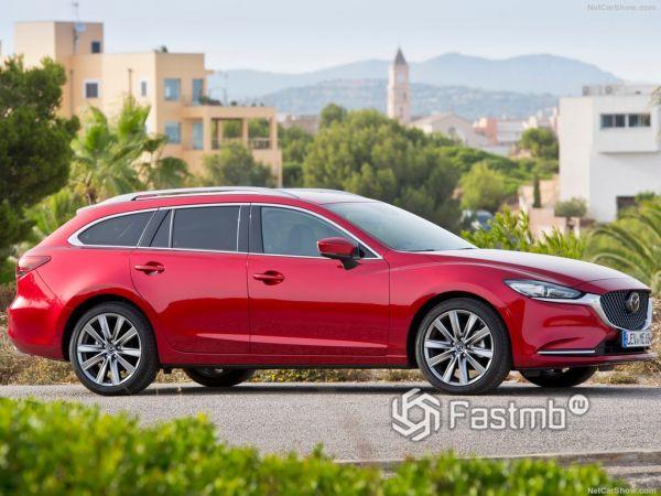 Технические характеристики Mazda 6 Wagon 2018
