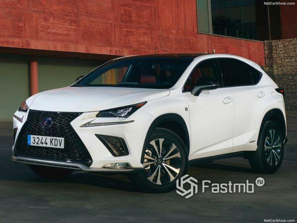 Lexus NX 2018: серьёзное обновление кроссовера
