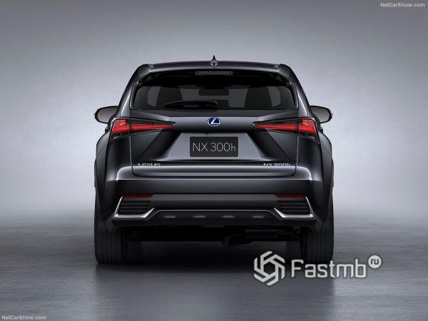Lexus NX 2018, вид сзади
