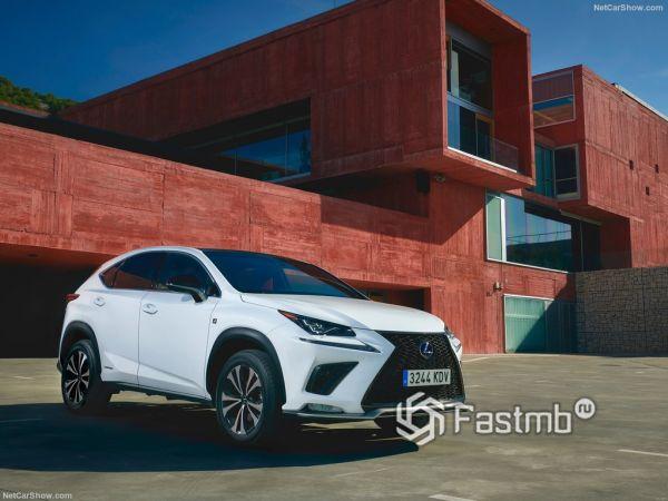 Безопасность нового Lexus NX
