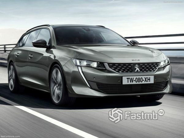 Peugeot 508 SW 2019: плановое обновление французского «сарая»