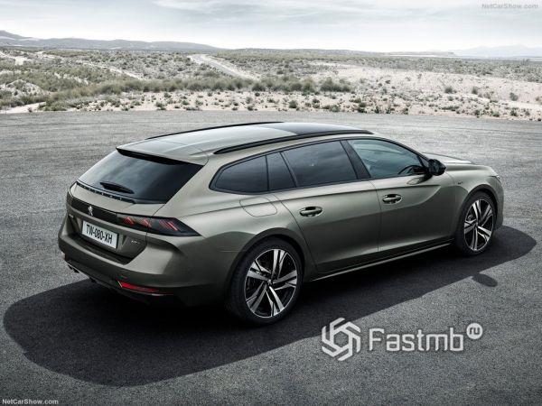 Безопасность нового Peugeot 508 SW