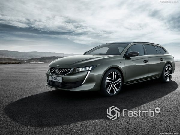 Технические характеристики Peugeot 508 SW 2019