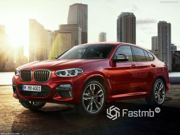 BMW X4 M40d 2019: топ-версия дизельного кроссовера