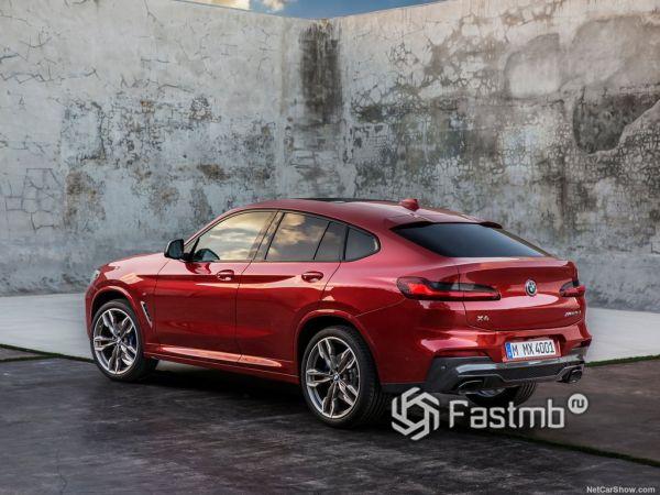 Экстерьер BMW X4 M40d