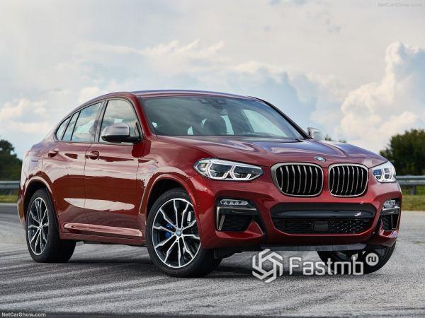 Системы безопасности нового BMW X4 M40d