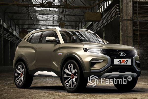 Новый концепт Lada 4x4 Vision 2018