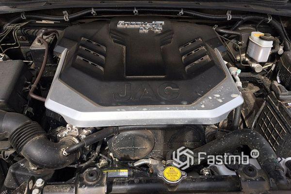 Двигатель пикапа JAC T6