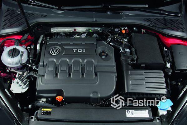 Компенсация за дизельные двигателя Volkswagen