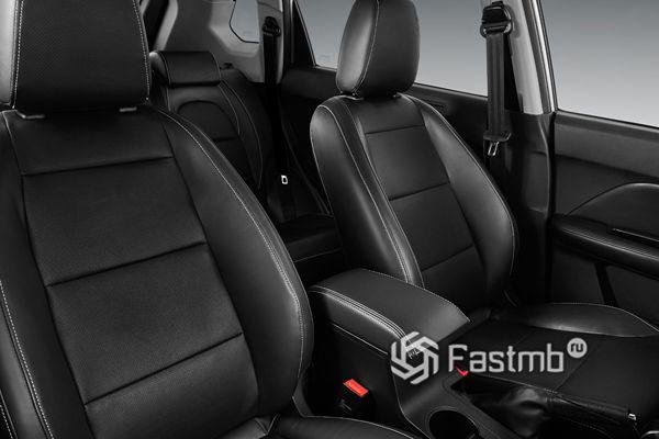 Передние сиденья Lifan X70 2018-2019