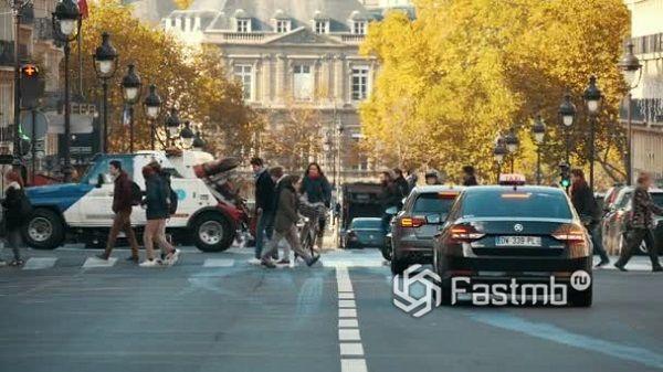 Французские пешеходы
