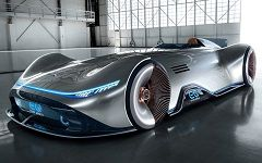 Mercedes-Benz Vision EQ Silver Arrow Concept: новый концепт Мерседес