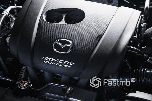 Двигатель нового Mazda CX-8