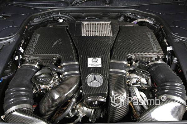 Двигатель Mercedes-AMG S63